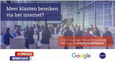 Meer klanten bereiken via het internet? Kom dan naar De Digitale Werkplaats