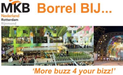 MKB Rotterdam Rijnmond organiseert Borrel BIJ… De Wereld van Smaak