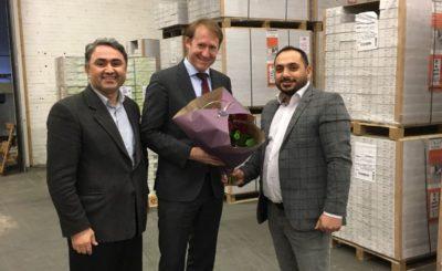 Tweede Kamerlid Kees Verhoeven (D66) en HOGIAF bezoeken mkb-onderneming