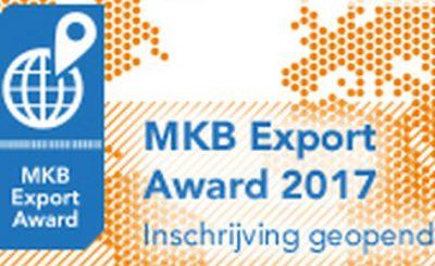 Inschrijving MKB Export Award 2017 geopend!