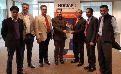 HOGIAF ontvangt ondernemersdelegatie uit Pakistan