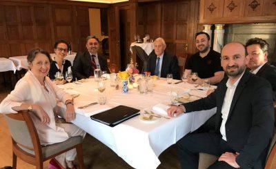 Bestuur HOGIAF houdt jaarlijkse vergadering met CvA en RvA