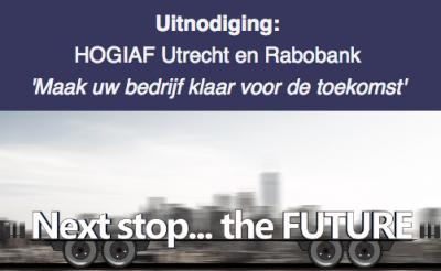 HOGIAF Utrecht en Rabobank: 'Maak uw bedrijf klaar voor de toekomst'
