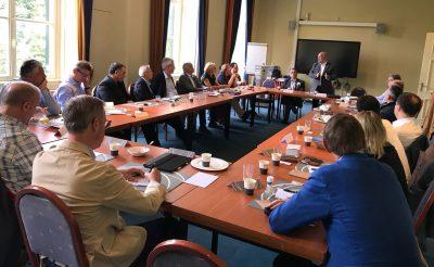 Geslaagd HOGIAF en NCD werkontbijt in kader van Kitchen Cabinet