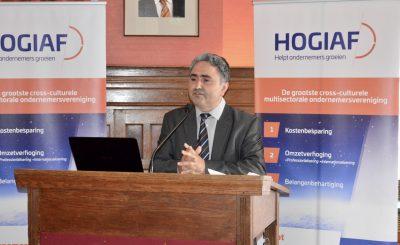 Ahmet Taskan opnieuw gekozen als voorzitter HOGIAF